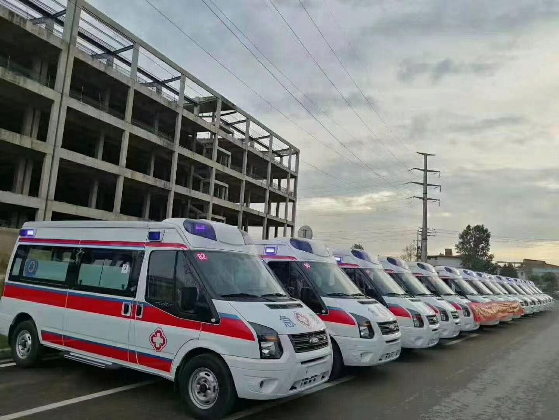 程力集团救护车批量发车新疆,给祖国的边疆带去温暖和希望图片