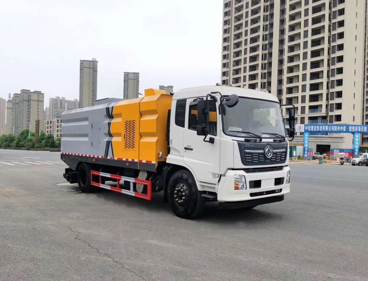 东风天锦高端滚扫吸尘车(国六9方)图片