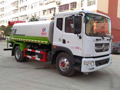 河南12吨东风洒水车雾炮车多少钱一辆?
