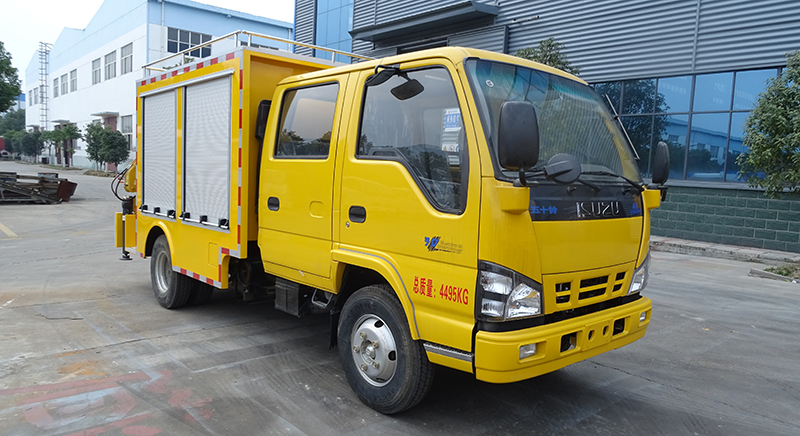 慶鈴五十鈴雙排救險車