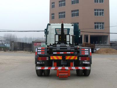 国六解放12-15立方勾臂式垃圾车图片