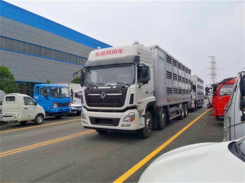 东风天龙运猪车|铝合金恒温运猪车|畜禽运输车厂家报价