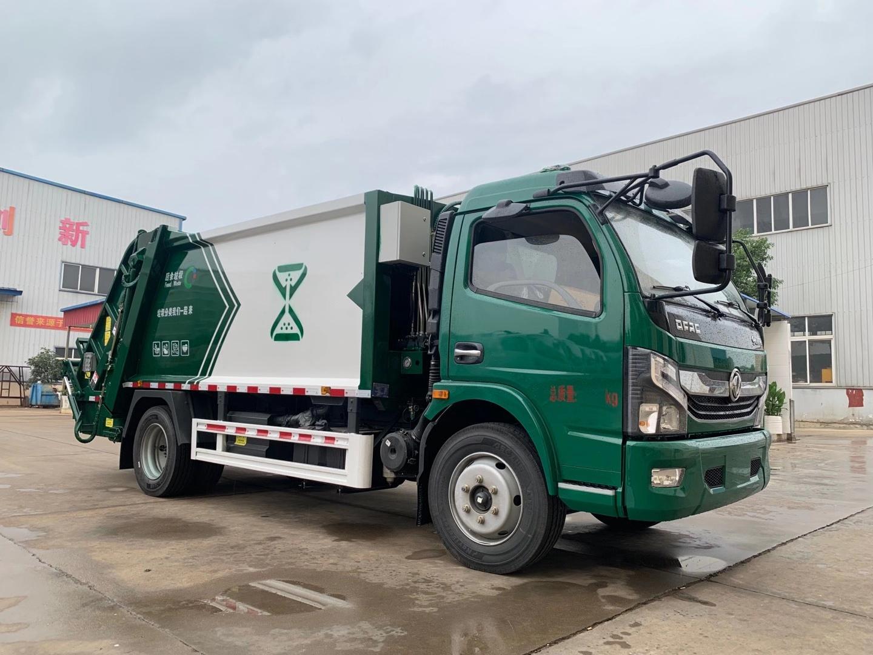 国六170马力8立方压缩垃圾车
