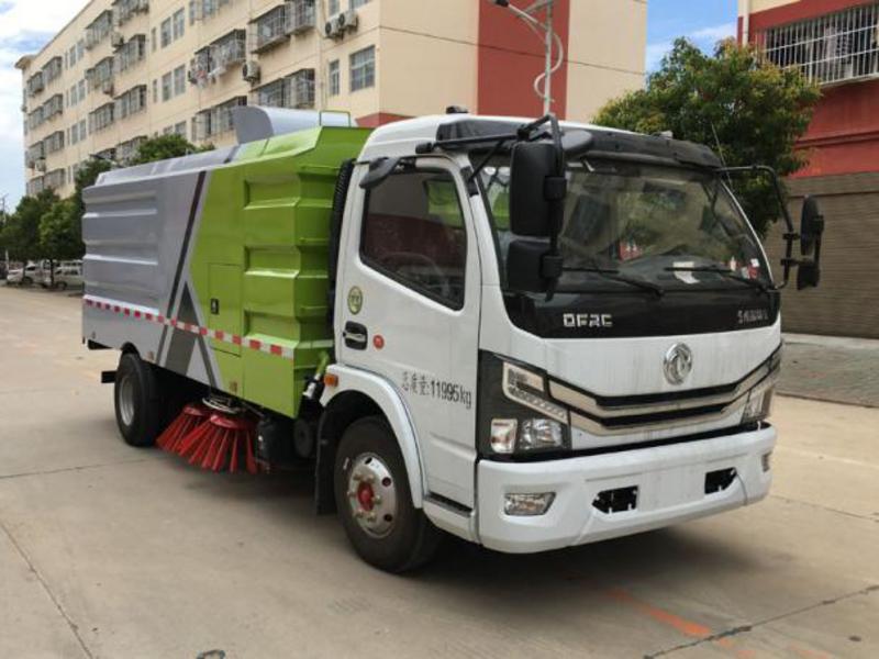 扫路车的扫盘与吸盘系统的作用和保养方法图片