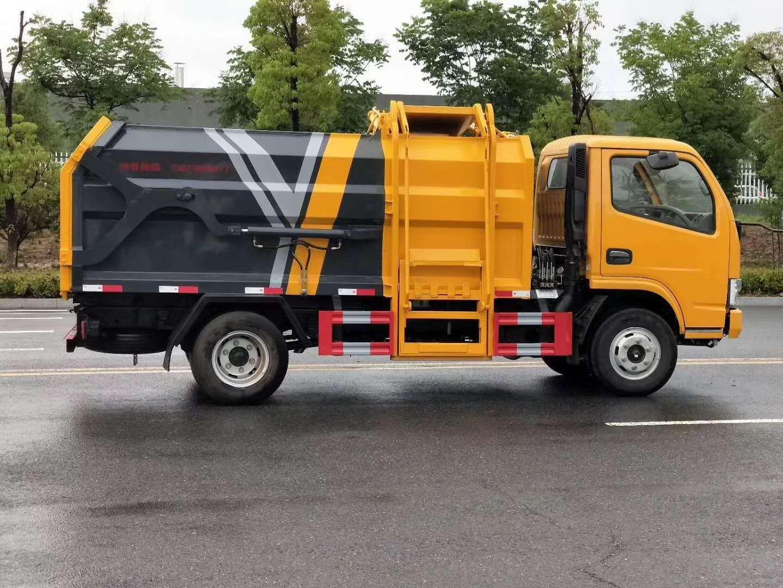 国六小型挂桶垃圾车厂家