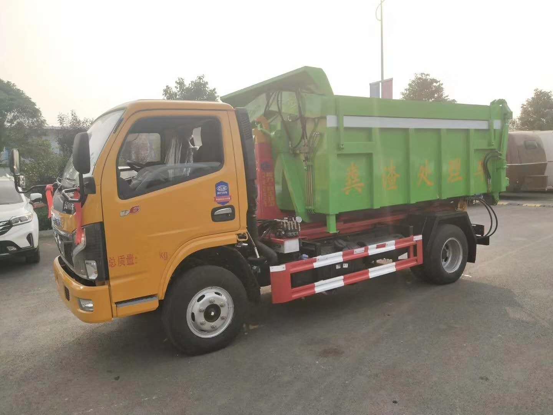 国六粪渣处理垃圾车