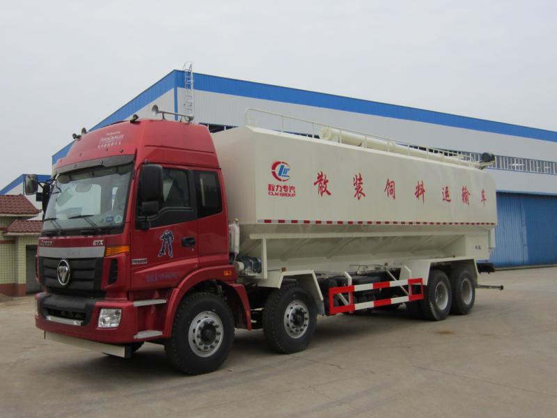 20吨40方福田欧曼散装饲料车配置