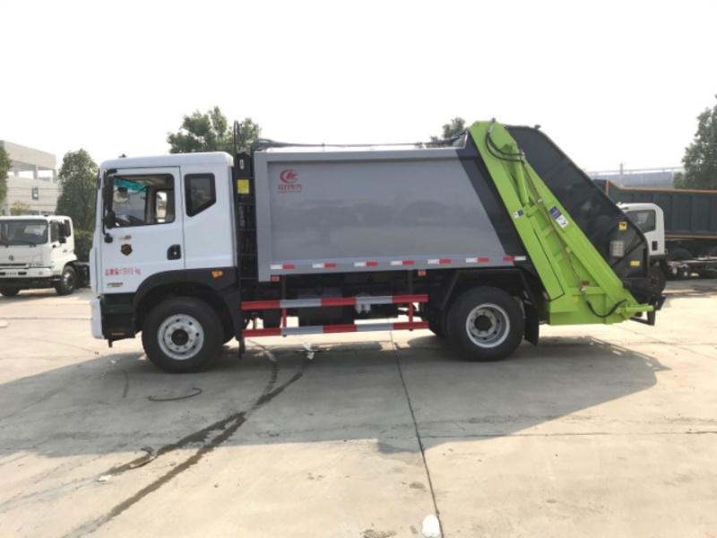 压缩垃圾车厂家8方挂桶垃圾车12方东风压缩垃圾车价格配置结构