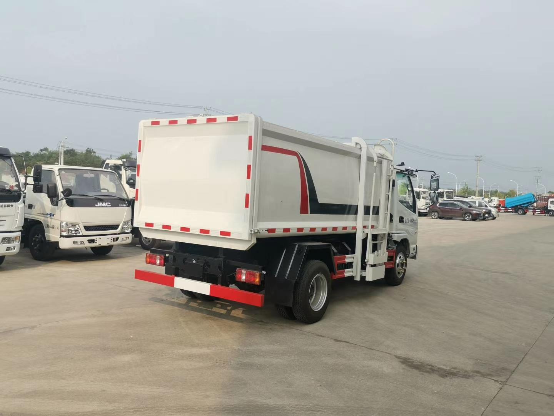 国六凯马6方挂桶垃圾车厂家直销可上蓝牌价格优图片