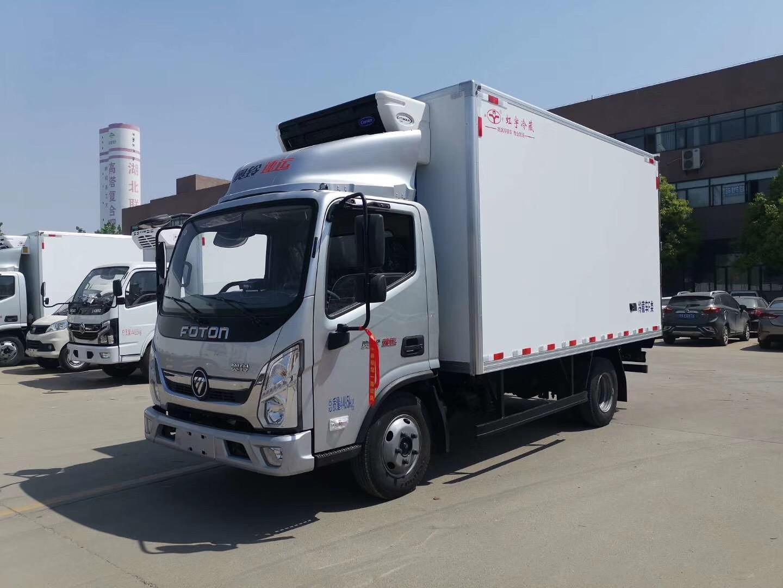 可分期送货上门4米2福田奥铃速运冷藏车
