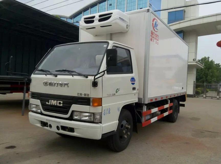 江鈴4.2冷凍車詳細配置圖片