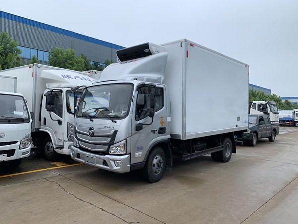 国六福田欧马可4米2冷藏车冷链车