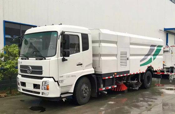 国六东风天锦16方洗扫车-道路专用车
