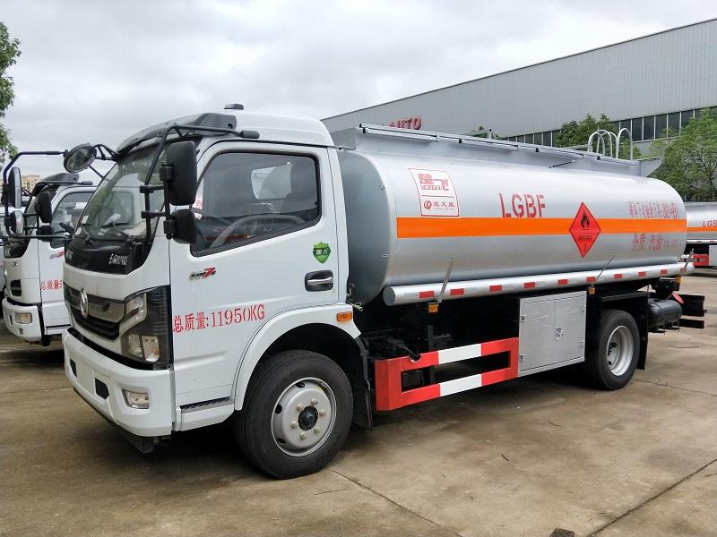 國六東風凱普特9.7方加油車 新款8噸流動加油車圖片