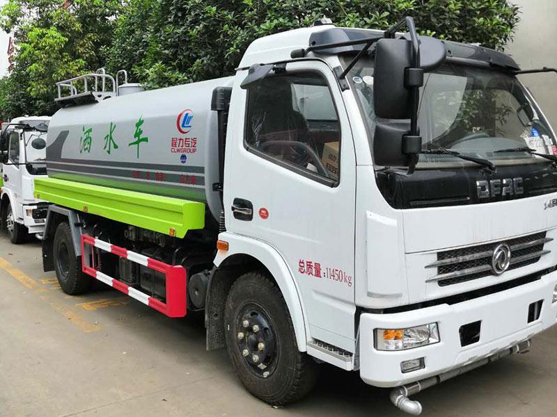 東風8噸灑水車價格,中型灑水車廠家圖片