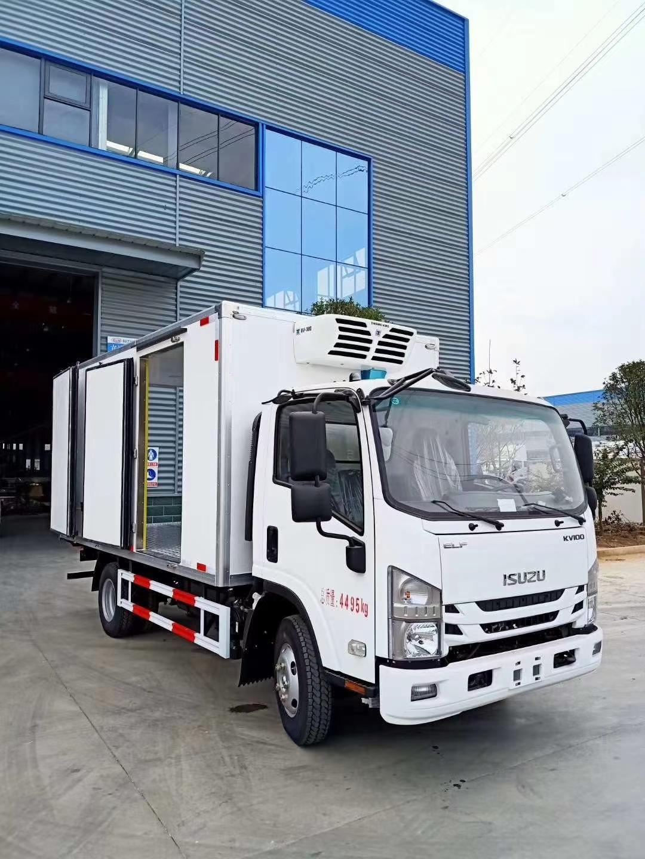 五十铃冷藏车价格4.2米冷藏车厂家直销