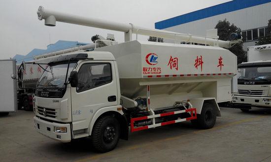 东风8吨散装饲料车便宜出售图片