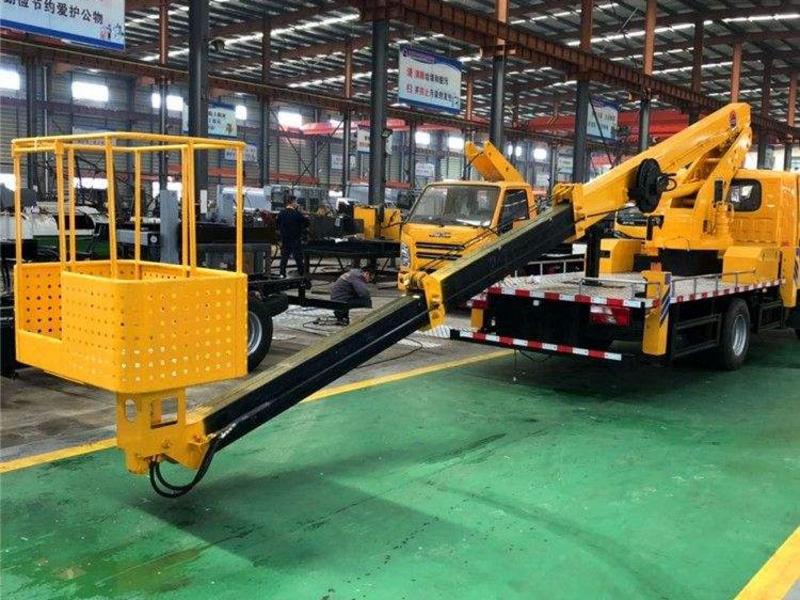 我们公司最新江淮蓝牌20米直臂高空作业车将亮市