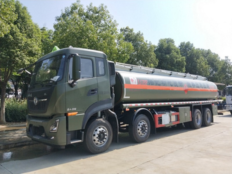 国六东风天龙标载20吨铝合金油罐车厂家