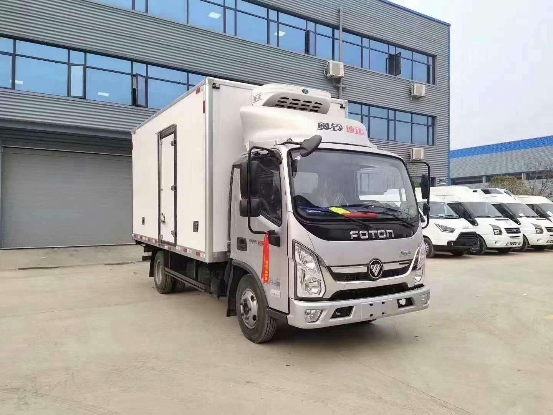 蓝牌冷藏车后勤食品运输车牛奶运输车疫苗运输车