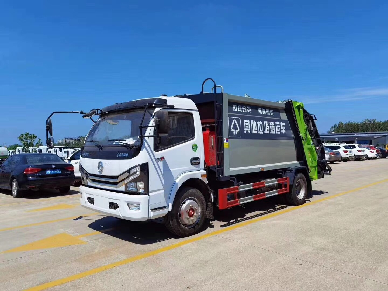 國六福瑞卡6方壓縮垃圾車現車圖片