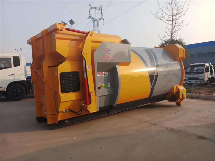 12方移动压缩垃圾箱   移动压缩垃圾站要求