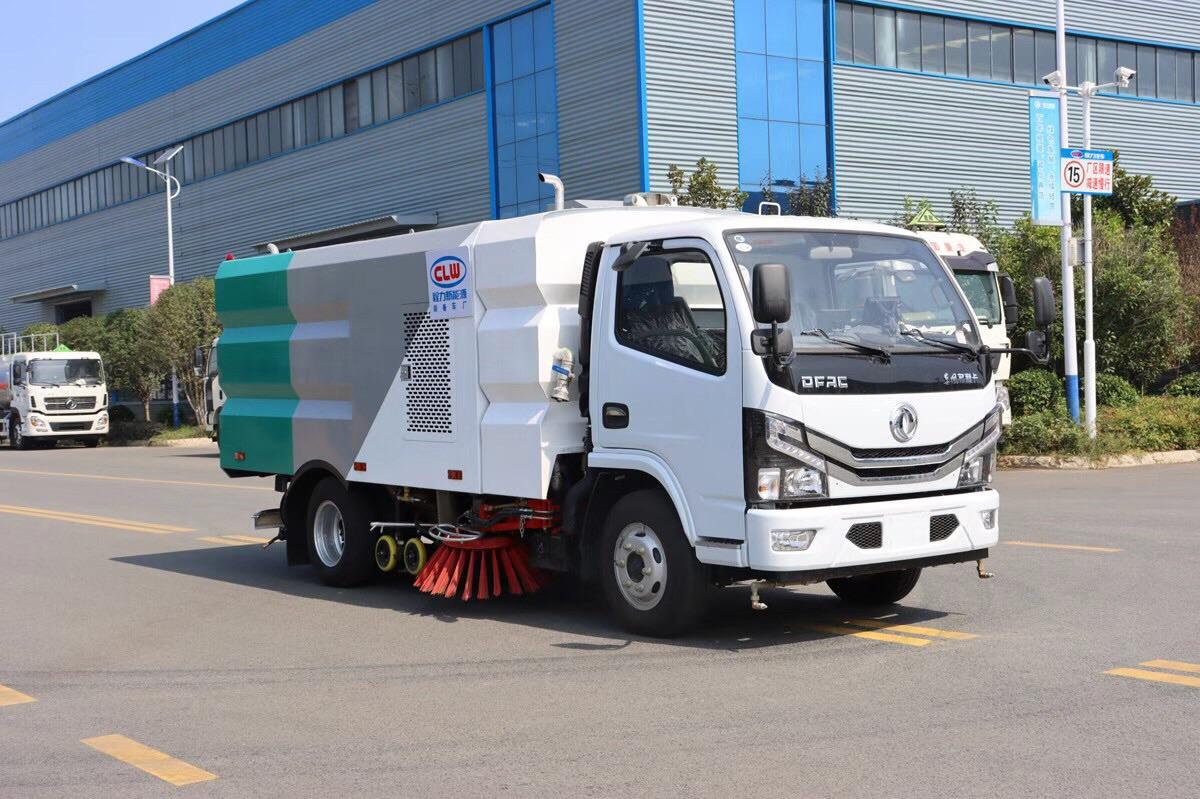 东风小型洗扫车高端定制厂家图片
