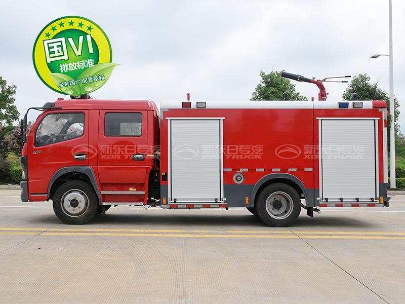 国六凯普特水罐消防车