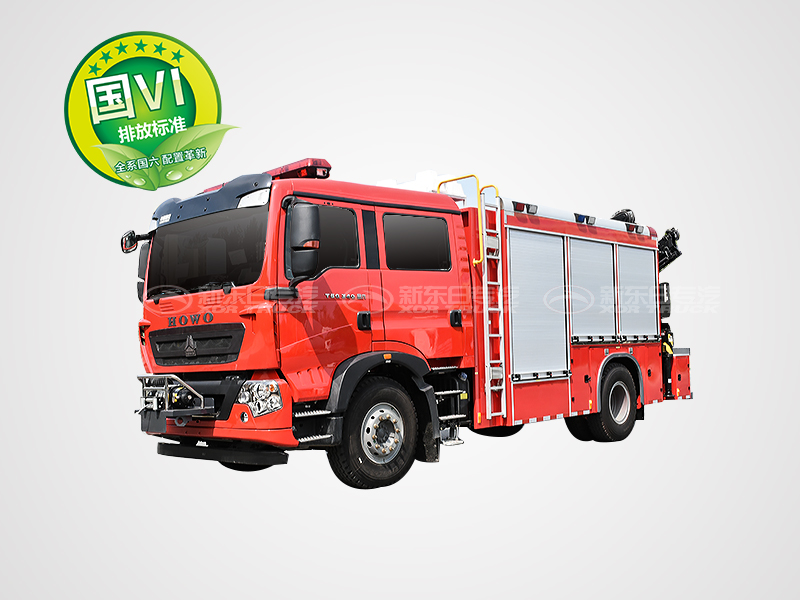 国六T5G豪沃抢险救援消防车