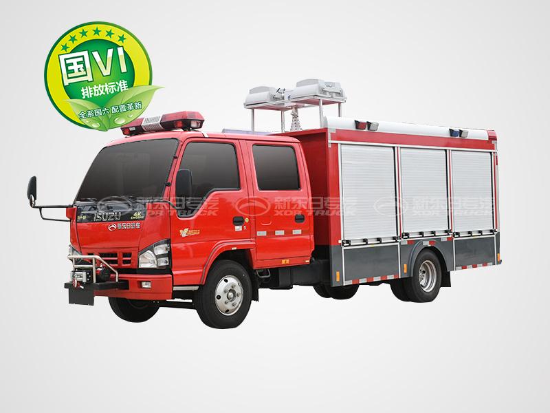 国六五十铃600P城市抢险救援车
