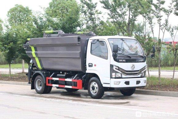 东风5吨压缩式垃圾车详细配置