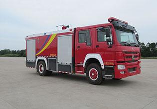 泡沫消防车视频图片