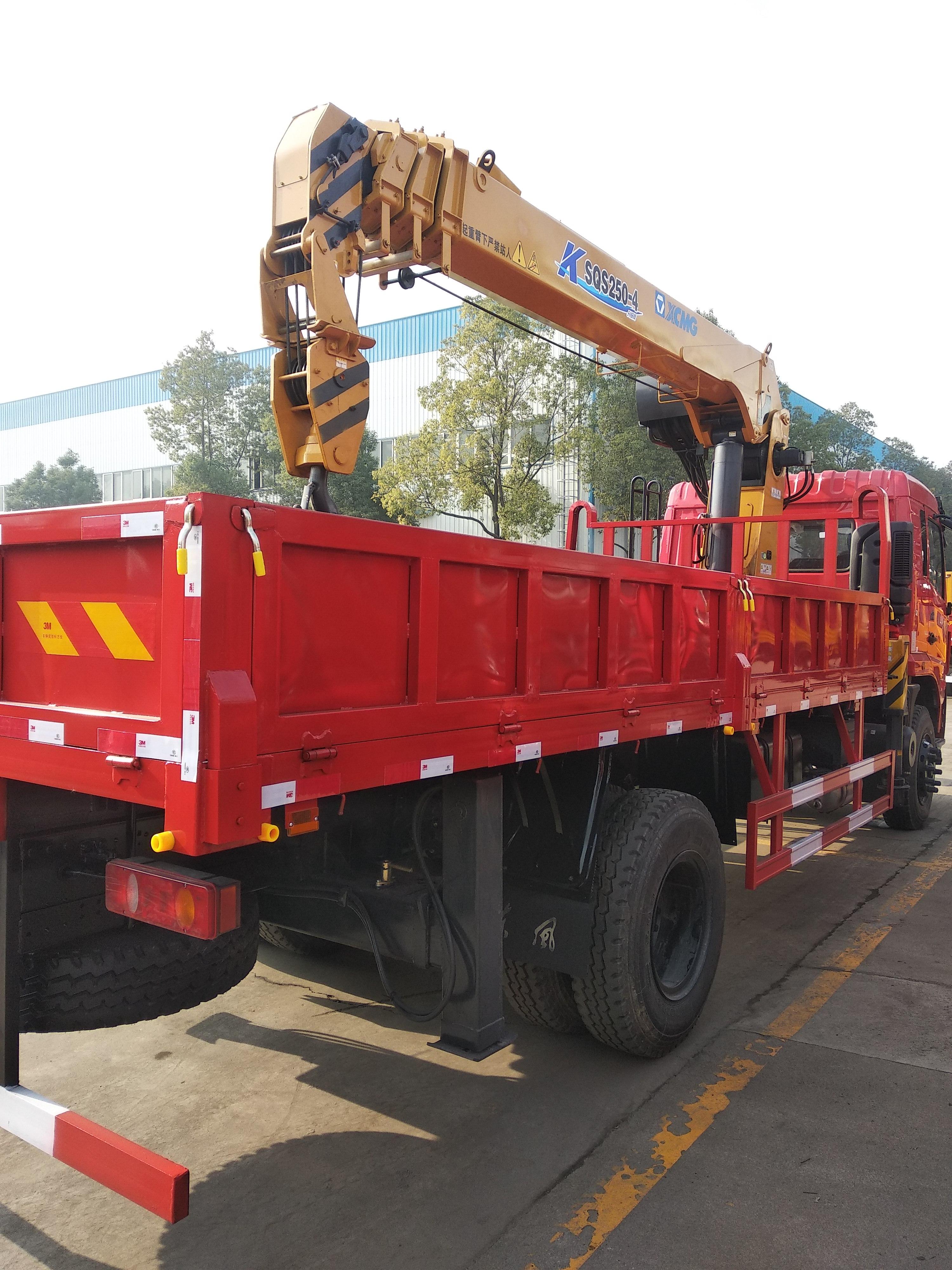 徐工蓝牌5吨随车吊C1驾照园林绿化工地转运好帮手可分期图片