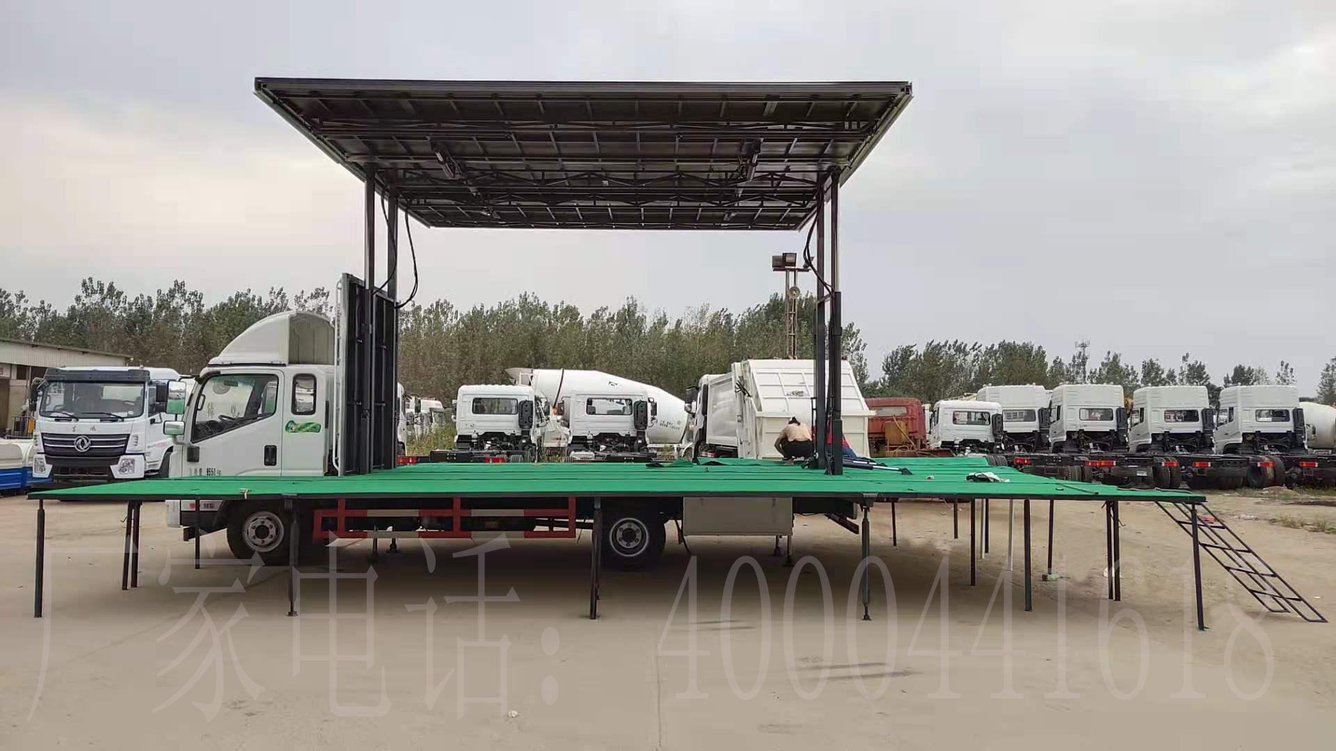 凯捷牌6.2米80平米流动舞台车图片
