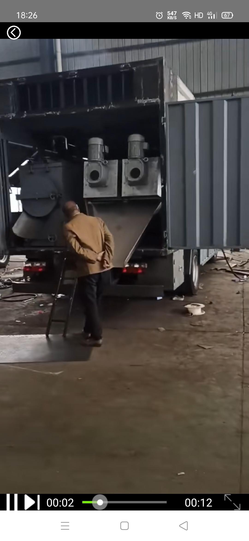 双叠螺污水净化厂车间视频