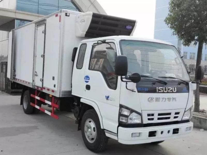 广西南宁小型冷藏车价格,五十铃冷藏车厂家
