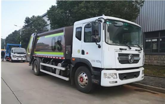 国六12方东风D9压缩垃圾车新鲜上市图片