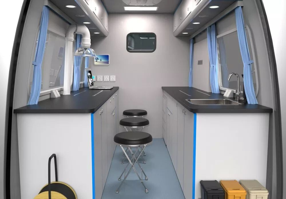 福特新全順V362核酸檢測車圖片