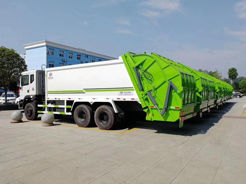 惊爆!东风18吨压缩垃圾车厂家特惠,不买别后悔哟!
