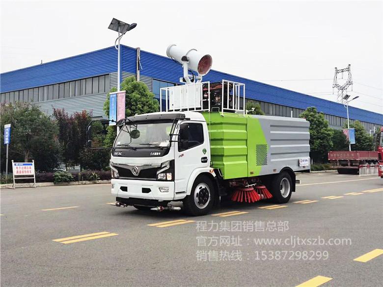 国六东风大多利卡7.5m³扫路车