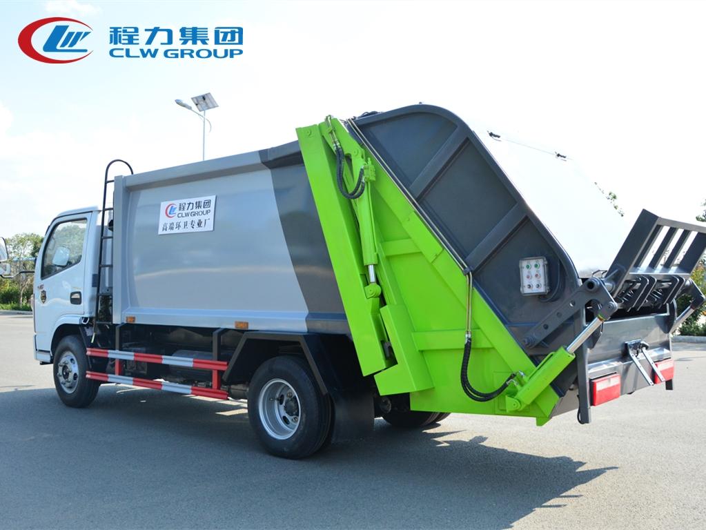 国六东风6方压缩垃圾车