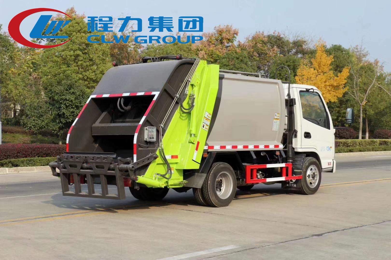 国六凯马4方压缩垃圾车