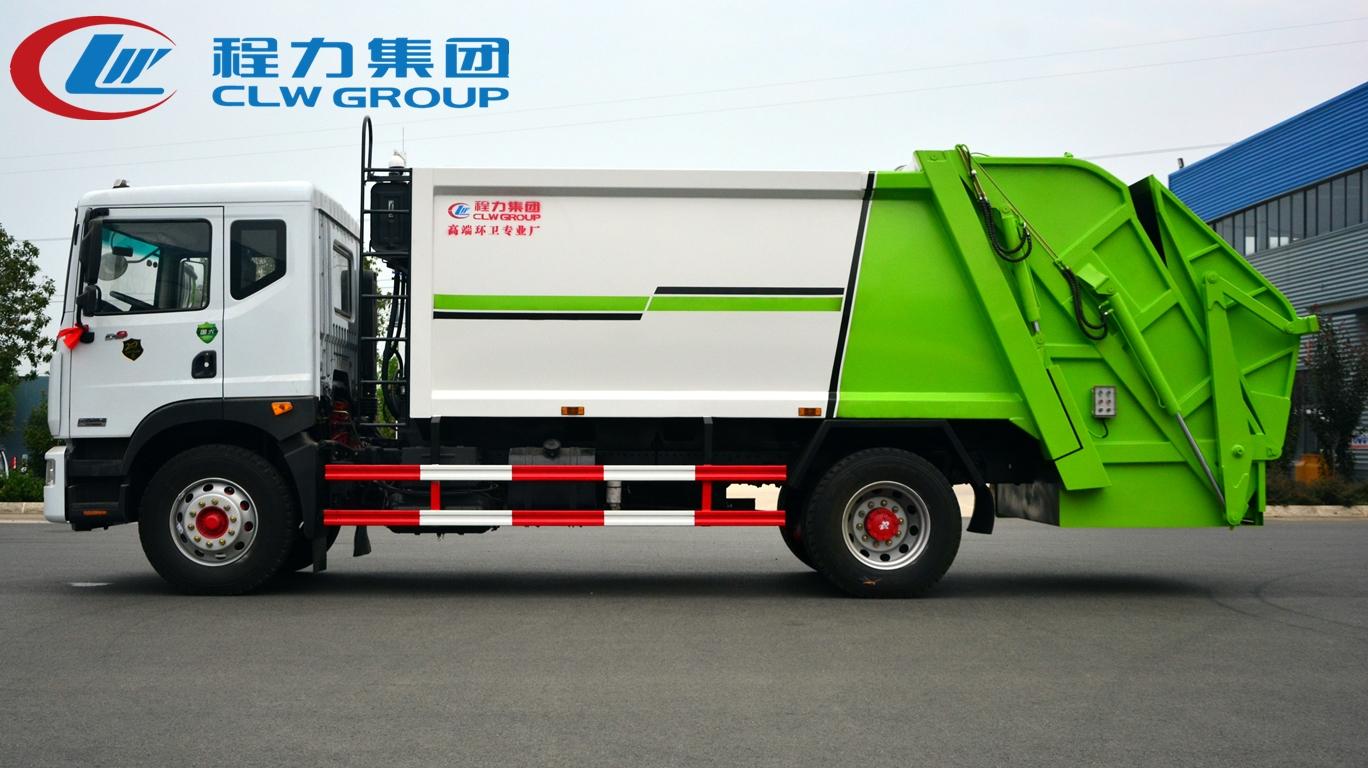 国六东风10方压缩垃圾车