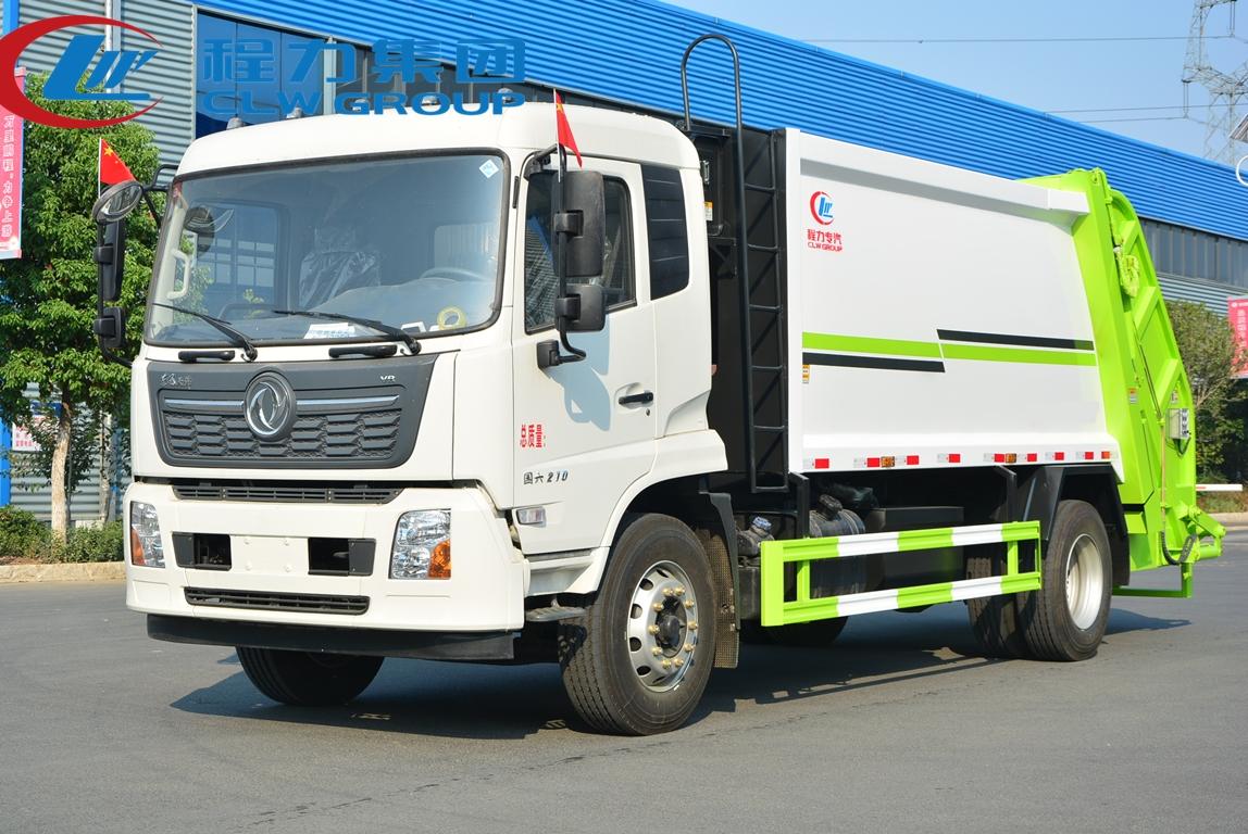 國六東風14方壓縮垃圾車
