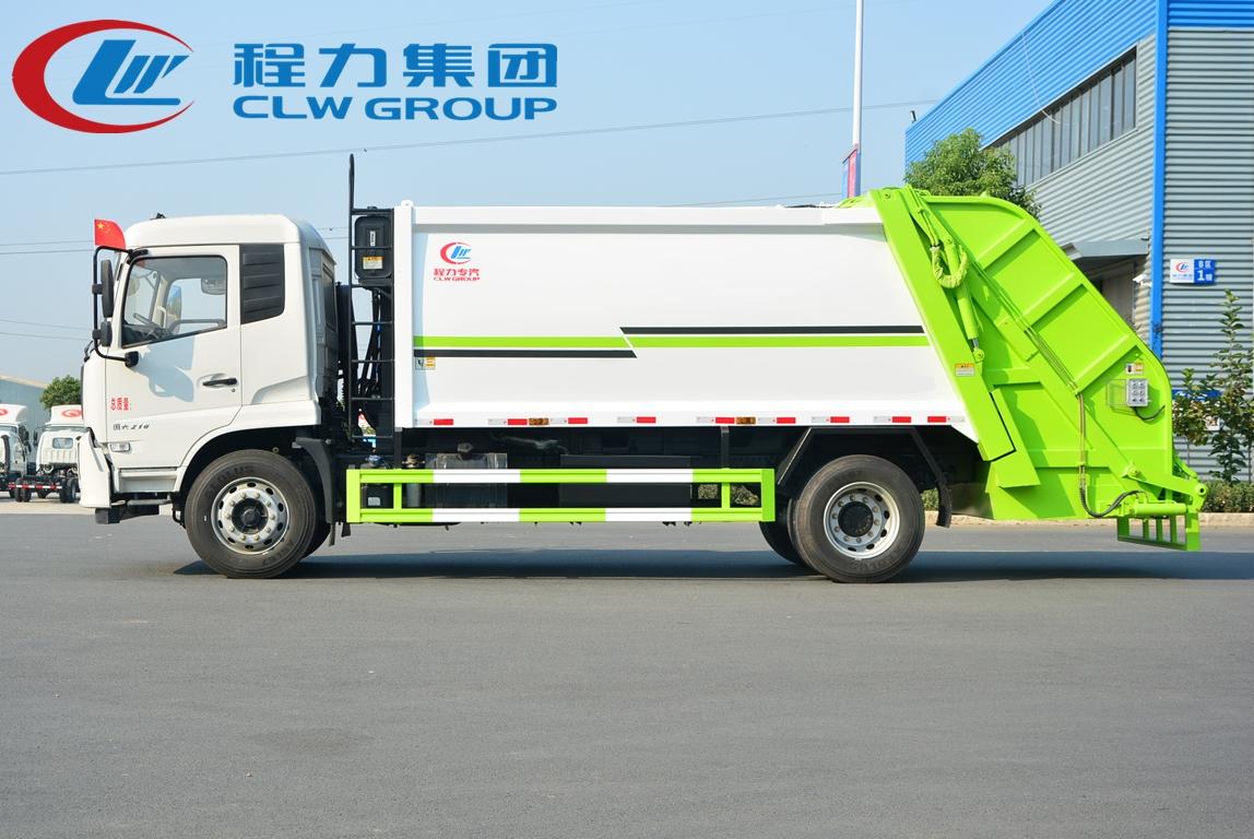 国六东风14方压缩垃圾车