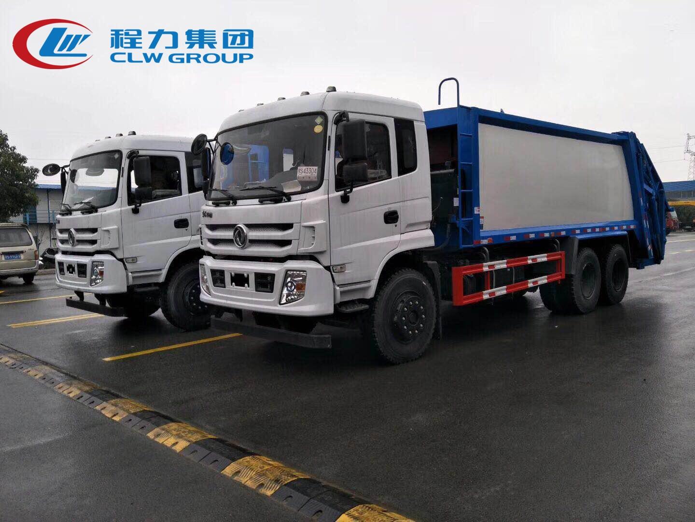 國六東風18方壓縮垃圾車