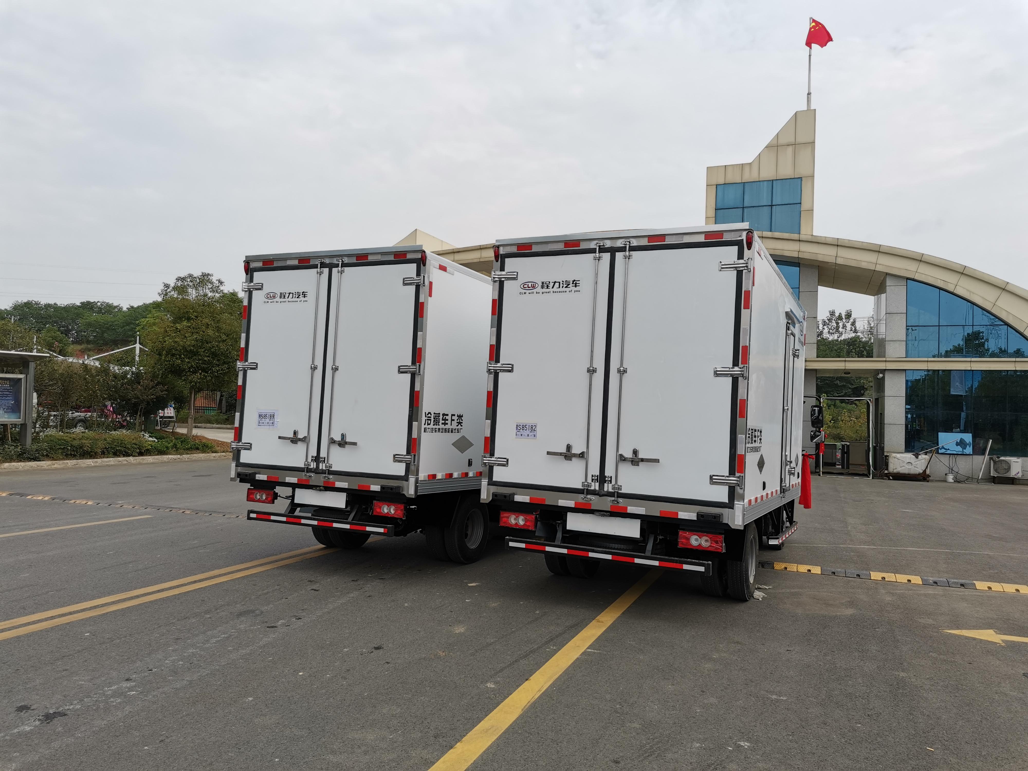 國六奧鈴速運冷藏車圖片