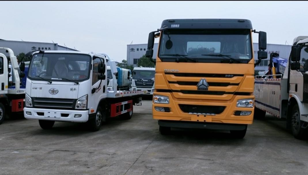清障车厂家视频3吨拖车至30吨大型拖车现车视频视频