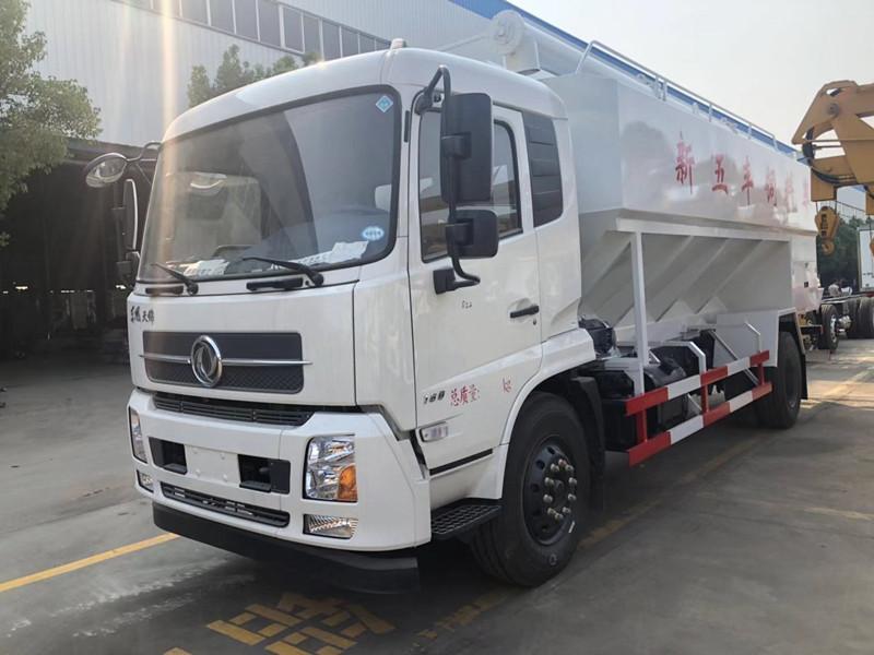 10吨散装饲料车_天锦散装饲料车