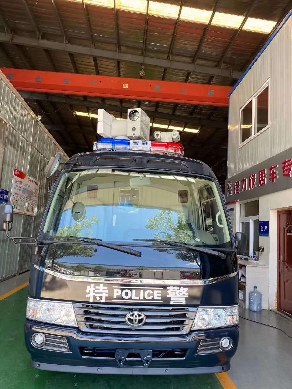 丰田考斯特通讯指挥车视频